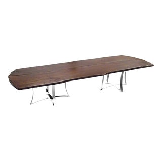 Yachtstar Live Edge Dining Table 2 For Sale