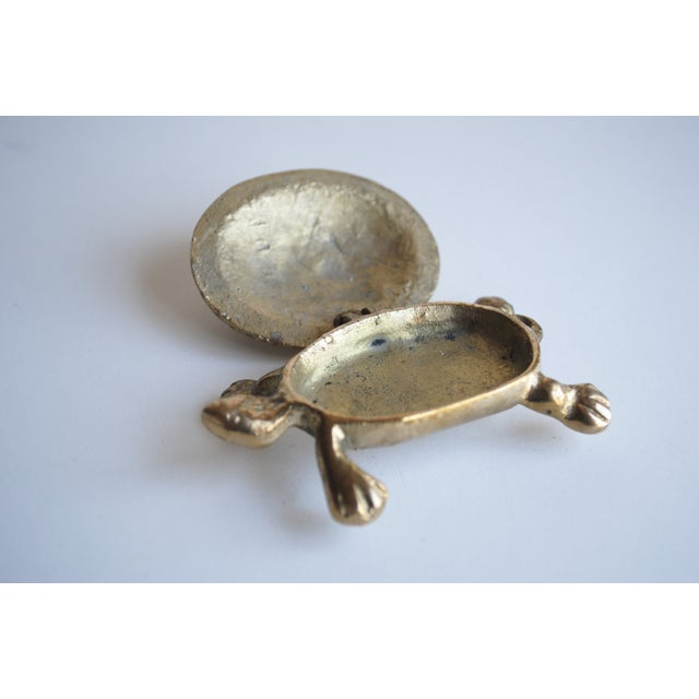 Small Brass Turtle Box - Image 4 of 5