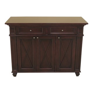 Walnut Finished Sideboard For Sale