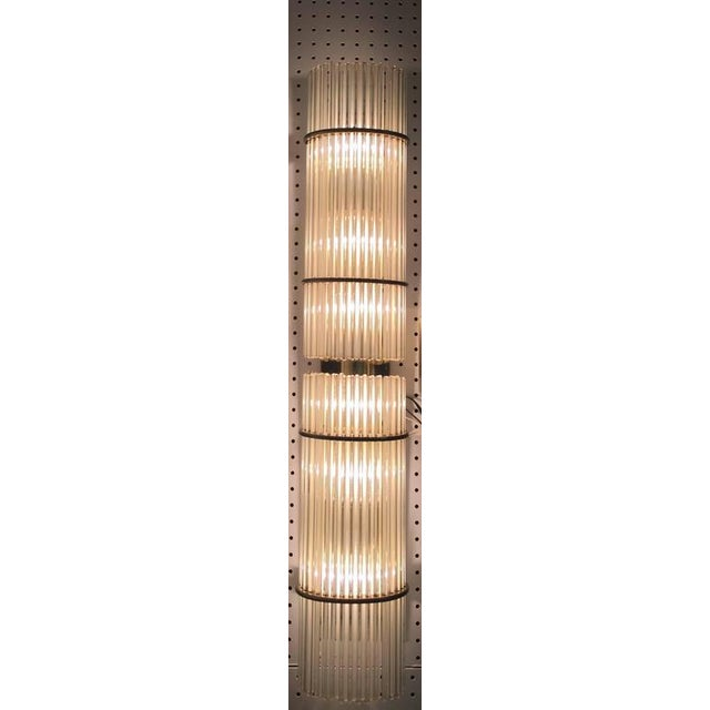 Italian Mid-Century Sconces with Glass Rods - A Pair - Image 8 of 8