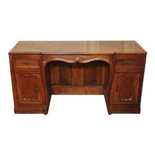 Louis XV Style Knee-Hole Desk For Sale