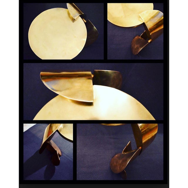 Modern The Dina Sculptural Side Table by Yann Dessauvages For Sale - Image 3 of 5