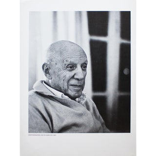 1967 Pablo Picasso Photoportrait, Original Period Parisian Photogravure by Kurt Wyss For Sale