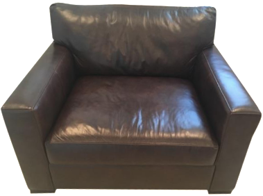 Crate U0026 Barrel Axis II Leather Chair