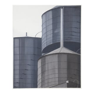 Water Towers from the NYC Reflections Series byJane McClintock
