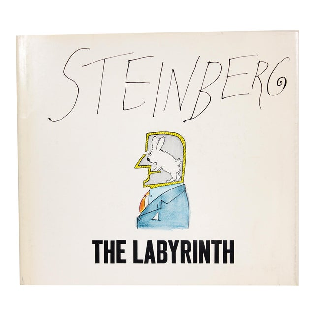 """""""The Labyrinth"""" 1st Ed. Book by Saul Steinberg - Image 1 of 11"""