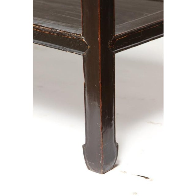 Asian 18th Century Five-Drawer Chinese Scholar's Table For Sale - Image 3 of 10