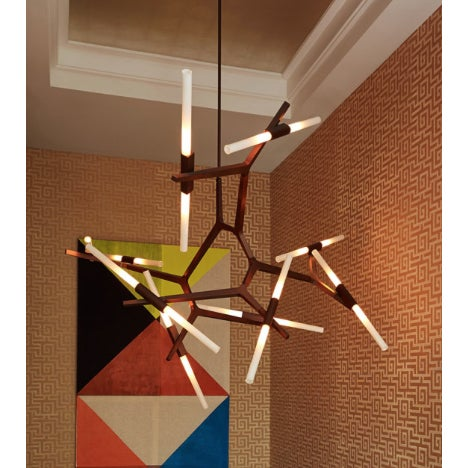 ABOUT Originally conceived as a candelabra, Agnes takes its inspiration from the fictional heroine of the same name, a...
