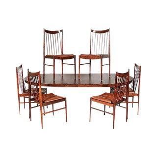Arne Vodder Rosewood Dining Room Set
