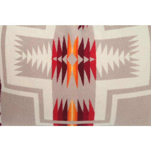 Pendleton Pattern Pillow For Sale - Image 4 of 7