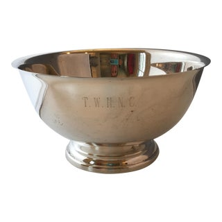 Towle Silverplate Revere Bowl For Sale