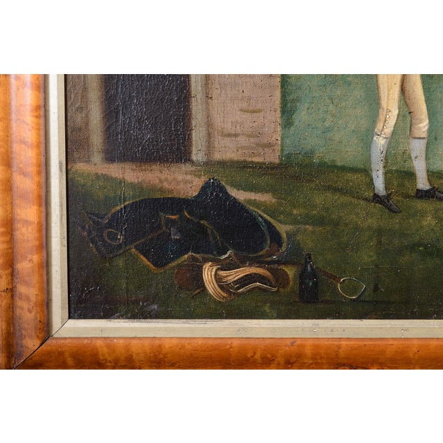 Traditional Francis Santorius Horse Painting For Sale - Image 3 of 7