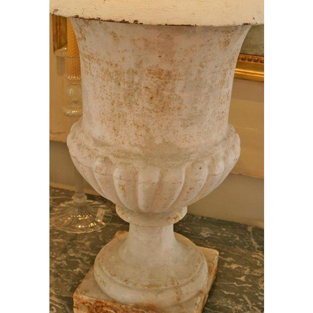 Early 19th Century 19th C Cast Iron Urn Jardinere For Sale - Image 5 of 5