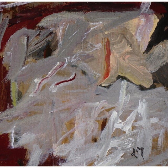 "2010s Laurie MacMillan ""Nest"" Abstract Painting For Sale - Image 5 of 6"