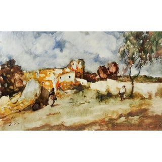 Giner Impressionist Spanish Painting For Sale