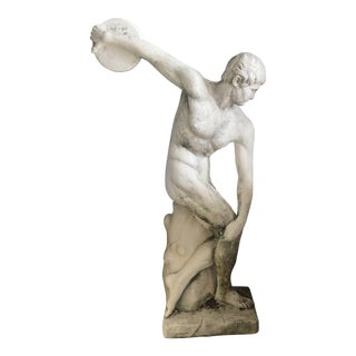 Concrete Discus Thrower Statue For Sale