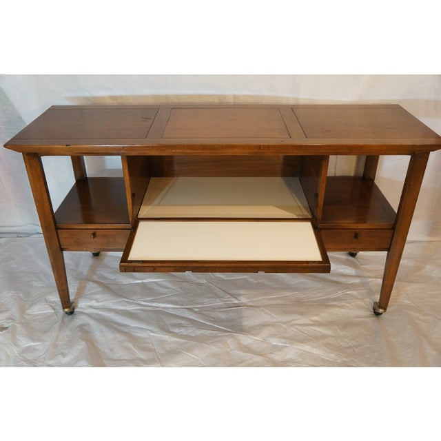 Mid-Century Modern Bar Cart - Image 3 of 8