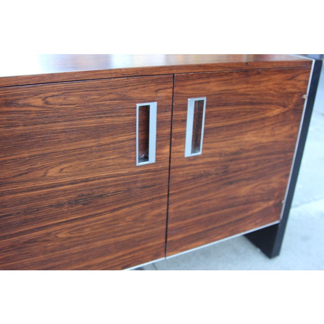 Robert Baron Glenn of California Rosewood Nightstand - Image 7 of 9