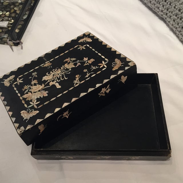 Mother of Pearl Decorative Box - Image 5 of 6