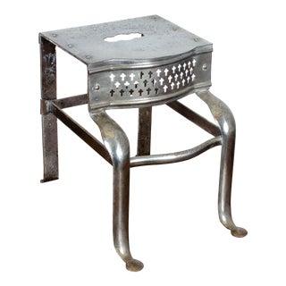 19th Century Antique Steel Footman For Sale