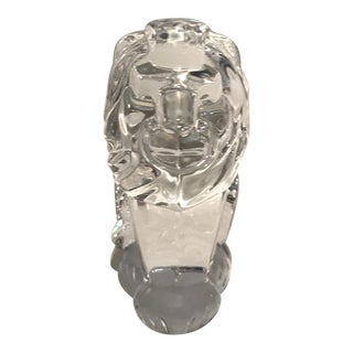 Crystal Lion For Sale