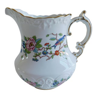 Vintage Aynsley Pembroke Porcelain Pitcher For Sale