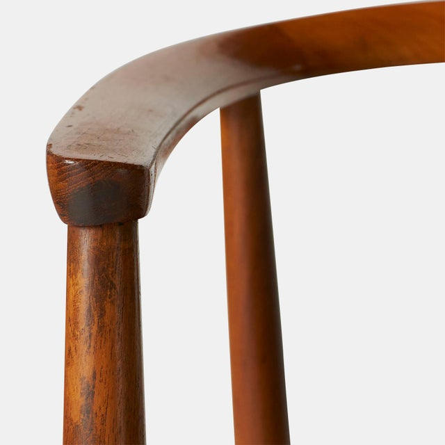 1950s Tove & Edvard Kindt-Larsen Guest Chair For Sale - Image 5 of 8
