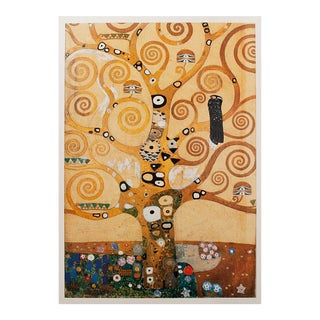 "1994 Gustav Klimt ""Tree of Life"" First Edition Large Poster For Sale"