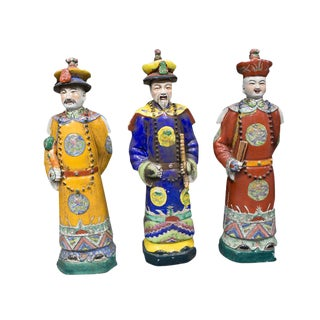 Antique Chinese Three Emperors - Set of 3