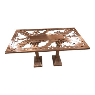 Southwest Metal Table Dining Table Desk For Sale