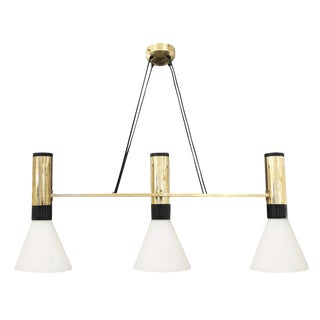 Stilnovo Chandelier Model 1173 For Sale