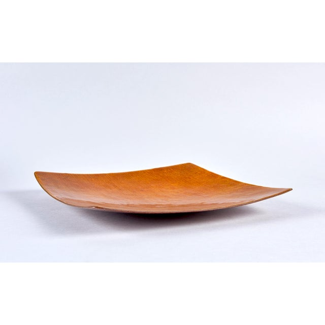 Brown Grisaile d'Oro Enamel Bowl by Studio Del Campo For Sale - Image 8 of 8