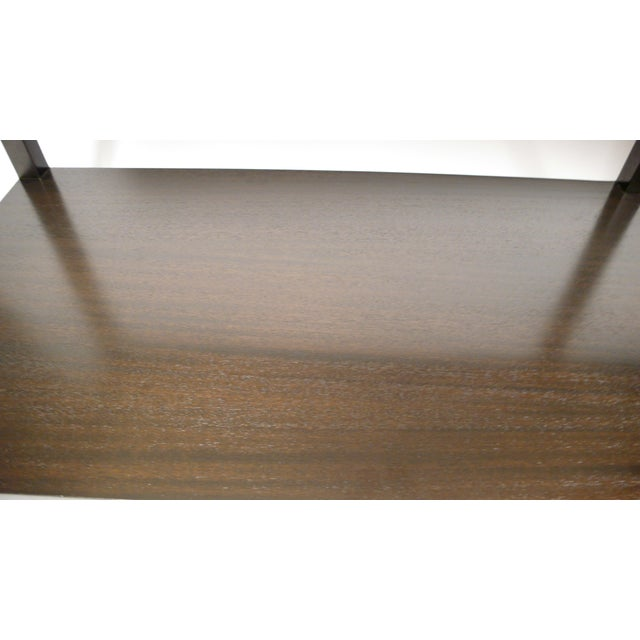 Brass Harvey Probber Travertine Console Table For Sale - Image 7 of 10
