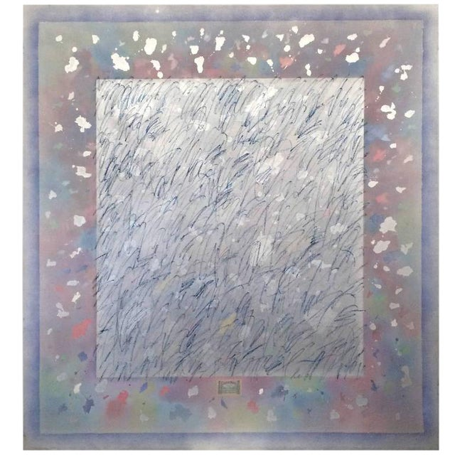 Gerald Campell Abstract Painting For Sale