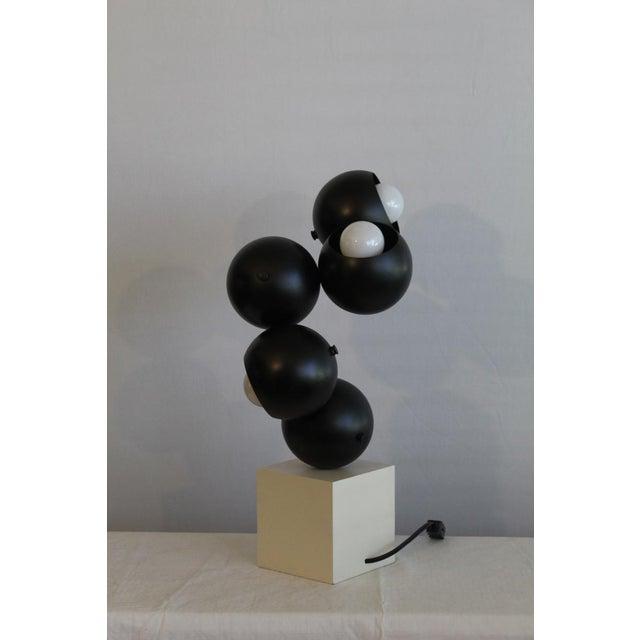 Robert Sonneman Robert Sonneman sculptural Table Lamp. For Sale - Image 4 of 8