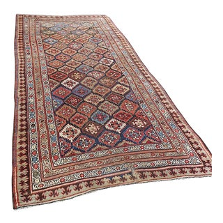 Antique Persian Tribal Oriental Rug-Hand Woven C.1900-Apprx. 5'x11' For Sale