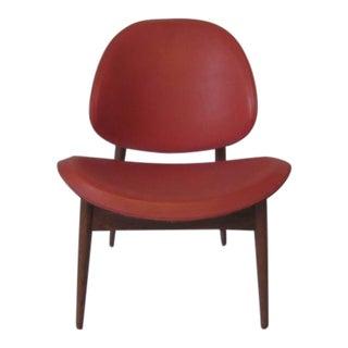 Ib Kofod Larsen Styled Danish Lounge Chair
