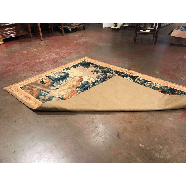 18th Century French Aubusson Tapestry With Cherubs at Play For Sale - Image 11 of 12