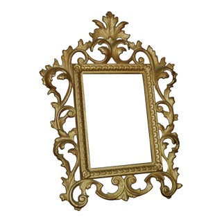 19th C. Picture Frame Rococo Style Antique Victorian For Sale