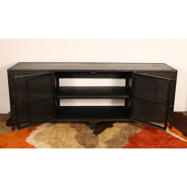 Industrial Iron Cabinet - Image 5 of 10
