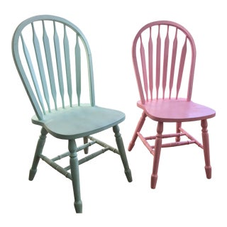 John Thomas Arrowback Windsor Chairs - A Pair