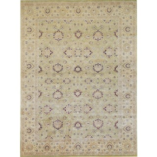 """Mansour High Quality Handwoven Tabriz Rug - 8'1"""" X 10'7"""" For Sale"""