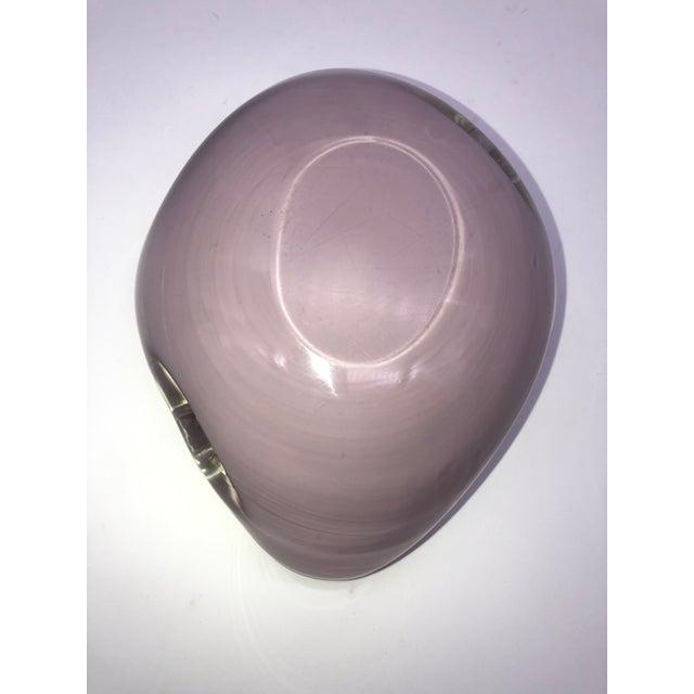 Italian Murano Barbini Bullicante Bowl For Sale - Image 9 of 11