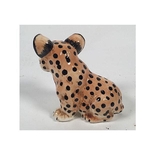 Ceramic Leopard Cub - Image 5 of 5