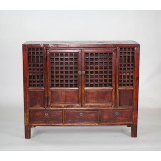 Large Chinese Country Elm Kitchen Cabinet Preview