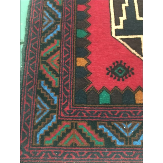 Oriental Hand-Knotted Wool Rug - 2′11″ × 4′6″ - Image 4 of 6