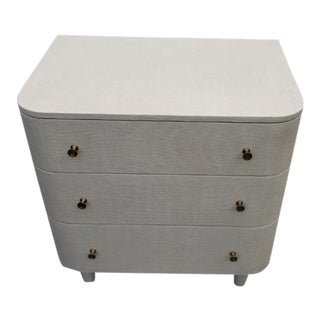 Made Goods Olivia Double Nightstand - Off White For Sale