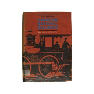 Canadian National Railways Book For Sale