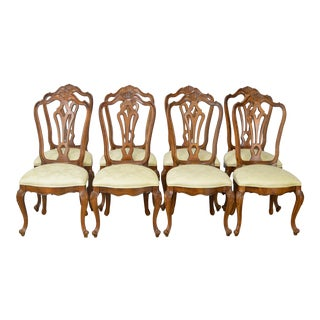 Century French Louis XV Style Dining Chairs - Set of 8