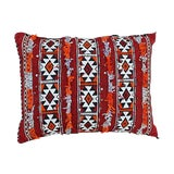 Image of Diamonds & Stripes Moroccan Pillow For Sale